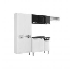 Cozinha De Aço Itatiaia Rose 10 Portas Com Balcão IG3G1-105
