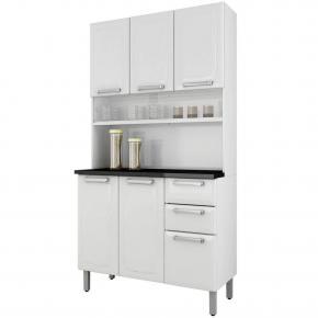 Armário De Cozinha Itatiaia Regina I3G2-105 6 Portas 2 Gavetas
