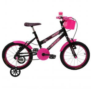 Bicicleta Infantil Aro 16 C-High Com Cestinha - Cairu