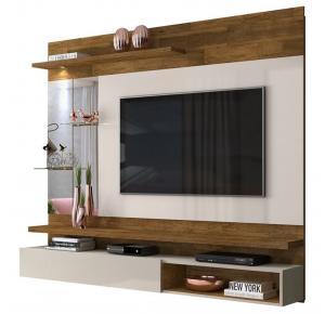 Painel Home Para TV até 55 Polegadas Ares - DJ Móveis