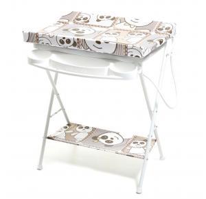 Banheira de Bebê Galzerano Luxo Rígida Com Trocador - Panda