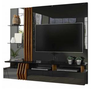 Painel Home Para TV até 55 Polegadas Bello 100% MDF - DJ Móveis