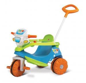 Triciclo Infantil Bandeirante Passeio e Pedal Velobaby - 206/207