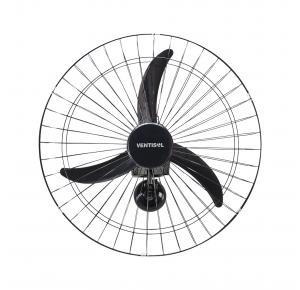 Ventilador de Parede Premium 60cm 3 Velocidades Preto - Ventisol