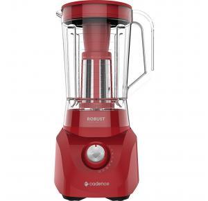 Liquidificador Cadence Robust com Filtro 1000W Vermelho - LIQ411