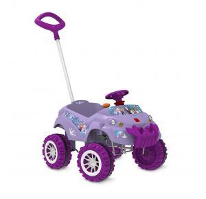 Carrinho de Passeio Infantil Bandeirante Frozen Disney - Pedal e Empurrador