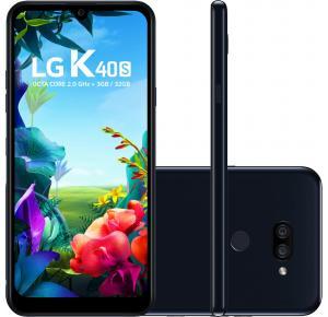 Smartphone LG K40S 32GB, Tela 6,1