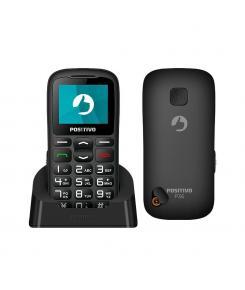 Celular Positivo Dual Chip, Rádio FM, 3G, com Adaptador Antena Rural P36