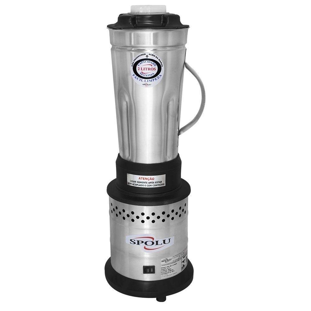Liquidificador Industrial 2 litros Spolu Ar Economy - Alta Rotação 800W