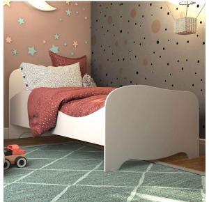 Mini Cama Infantil com Proteção Lateral Uli - Peroba Móveis