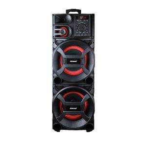 Caixa de Som Amplificada Amvox ACA 1501 New X 1500W Bluetooth Rádio FM Entradas AUX/TF CARD/USB