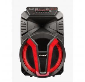 Caixa de Som Amplificada Amvox ACA 780 Vulcano 700W Bluetooth Bivolt Rádio FM Entrada USB e Conexão TWS
