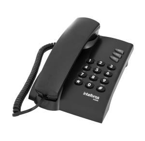 Telefone Com Fio Intelbras Pleno - Preto