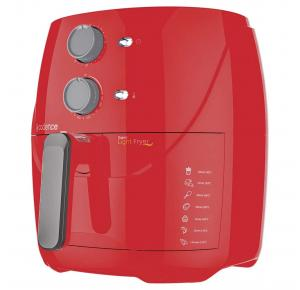 Fritadeira Elétrica Sem Óleo Cadence 3,2L Super Light Fryer - Vermelha