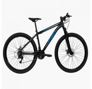 Bicicleta Aro 29 Titan 21V Alumínio T-17 Preto/Azul - Athor Bikes