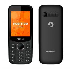 Celular Positivo P38 Dual Chip 3G Tela 2.8 Preto