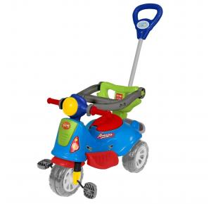 Carrinho de Passeio Triciclo com Empurrador Avespa - Maral