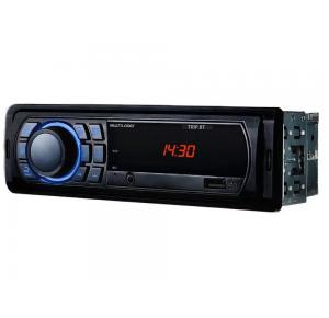 Som Automotivo Multilaser MP3 Player Rádio FM Bluetooth USB Auxiliar - Trip BT P3344