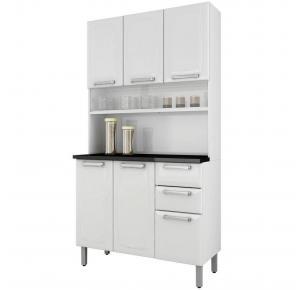 Armário de Cozinha Itatiaia Regina 6 Portas 2 Gavetas  I3G2-105