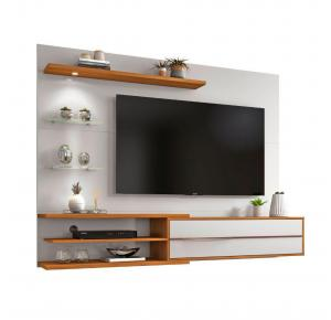 Painel Para TV até 60 Polegadas 1 Porta Iluminação LED NT 1115 - Notável