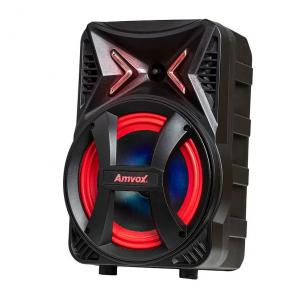 Caixa Amplificada Amvox ACA 189 Montanha 180W RMS, Bluetooth, Rádio FM, Entrada para Microfone e Função Gravar, Bivolt