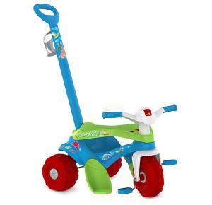 Triciclo Infantil Bandeirante Passeio e Pedal Motoka Adventure - 841