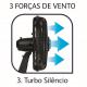 Ventilador de Mesa Arno Silence Force Repelente Líquido VF55