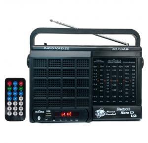 Rádio Motobrás 7 Faixas USB/SD AM/FM/OC - RMPU32AC