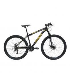 Bicicleta Aro 29 Titan 21V Alumínio T-17 Preto/Amarelo - Athor Bikes